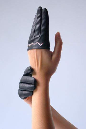 Half Only Fingers Gloves - Ines Glov