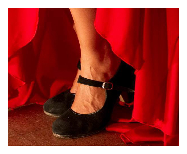 Flamenco shoes for dance - FlamencoExpo