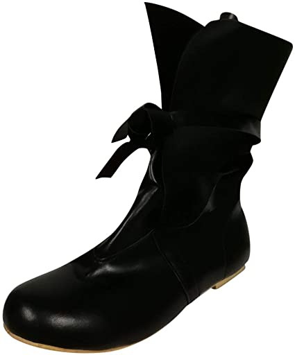 Amazon.com: JJHAEVDY Women's Lace-Up Ankle Boots, Flat Boots, Half .
