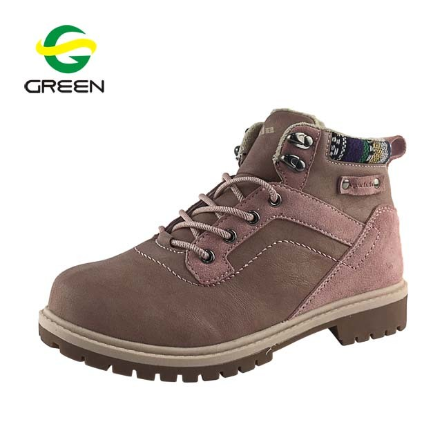 China Greenshoe New Arrival Dr Marten Boots Women, Pink Flat Boots .