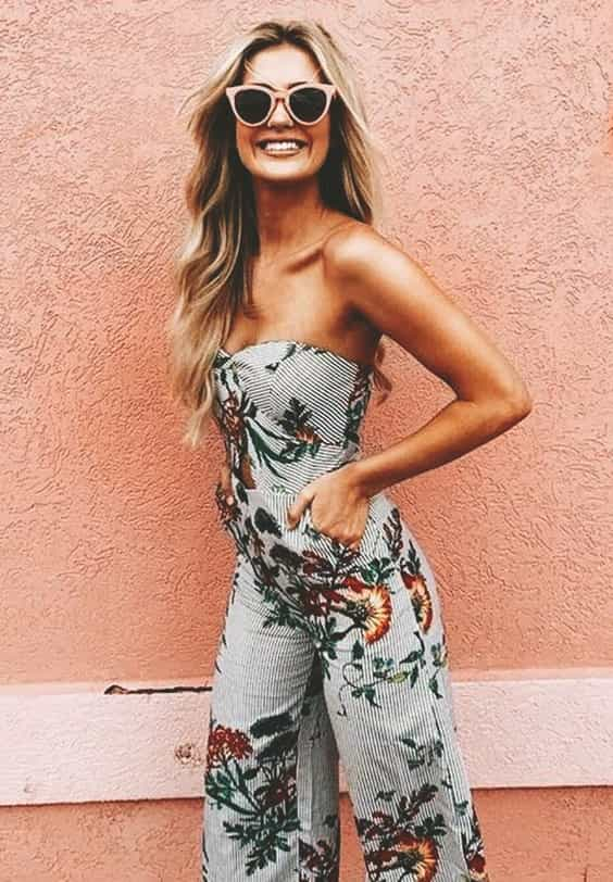 floral-printed-jumpsuit-spring-outfit-ideas-min | Ecemel