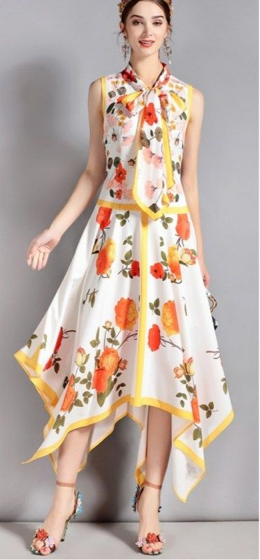 50+ Cute Floral Printed Dresses Ideas #floral #dresses #cute .
