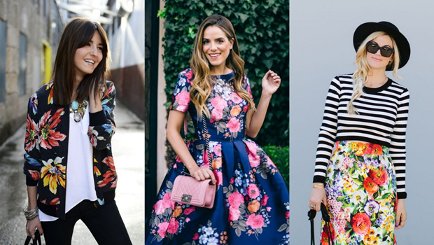 50 Outfit Ideas to Wear Floral Print Pieces Like Never Befo