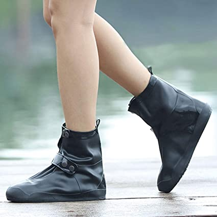 Life-C Rain Snow Shoe Covers Boots Waterproof Galoshes Overshoes .