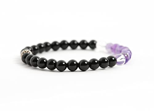 Amazon.com: Black Tourmaline Bracelet, Protection and Energy .