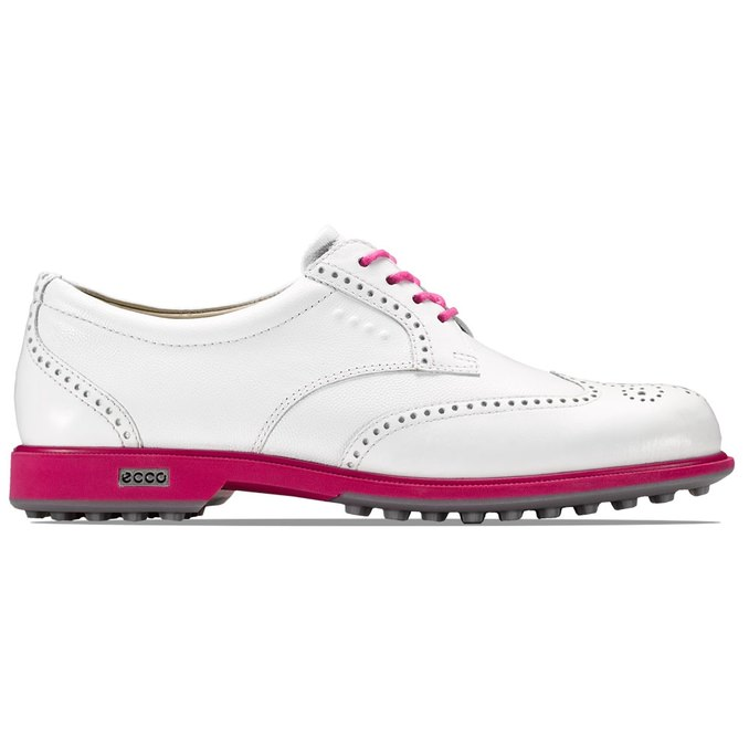 Ecco Ladies Classic Golf Hybrid White / Beetroot Available