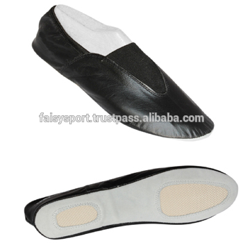 Gymnastic Shoes - Buy Leather Split Sole Trampolining / Gymnastic .