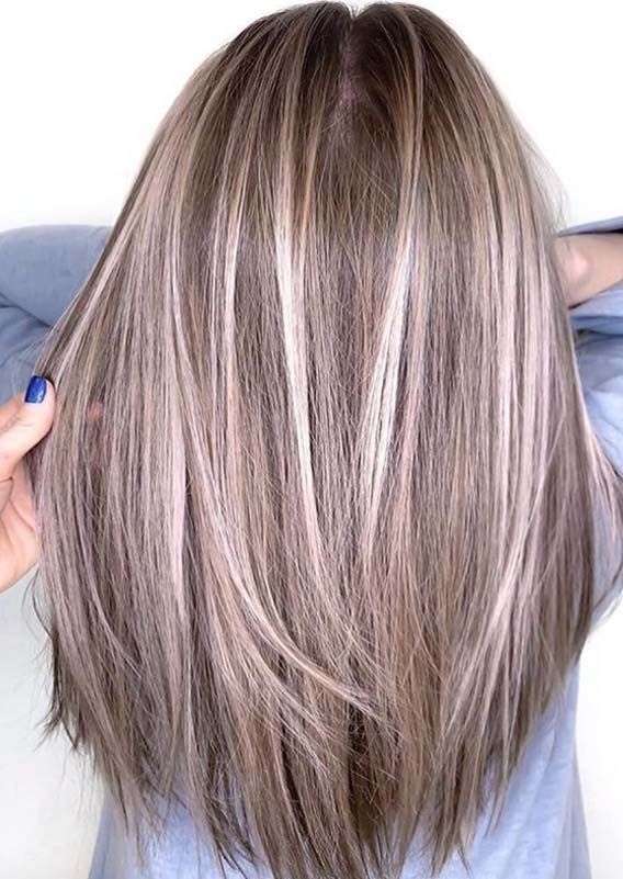 Wonderful Hair Color Ideas for Long Straight Hair in 2019 .