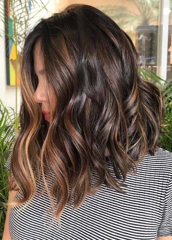 Best Of Brunette Balayage Hair Color Ideas for 2019 | Stylesmod .