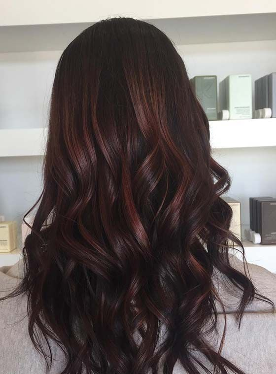 Top 30 Chocolate Brown Hair Color Ideas & Styles For 2019 | Hair .