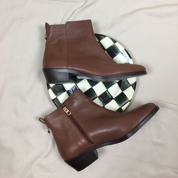 Coach Shoes | Leather Womens Half Boots Boots | Poshma