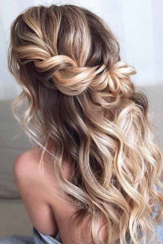 38 Sweetest Half Up Half Down Hairstyle For Special Occassion in .