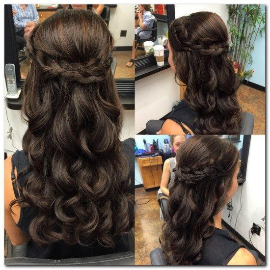 15 Sweetest Half Up Half Down Hairstyle For Special Occassion .