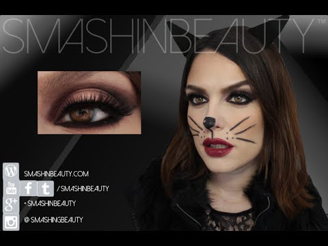 CAT woman Halloween Makeup Tutorial | SMASHINBEAUTY - YouTu