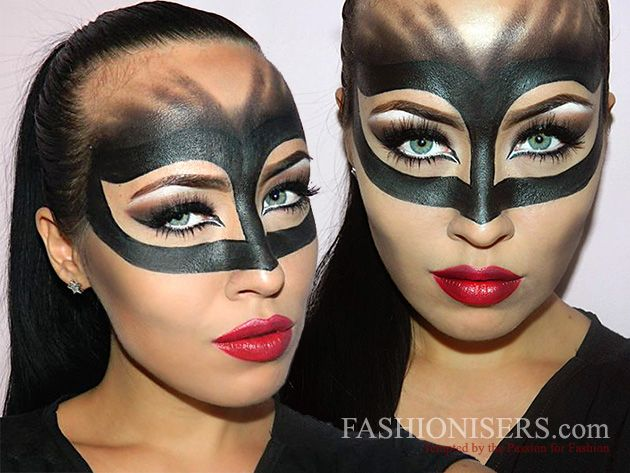 Catwoman Makeup Tutorial for Halloween in 2020 | Catwoman makeup .