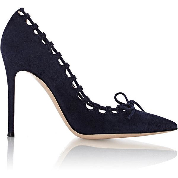 Gianvito Rossi Women's Bow-Front Pumps (11,300 HNL) ❤ liked on .