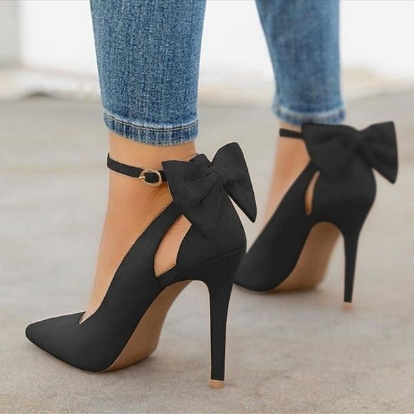 High-front pumps for women