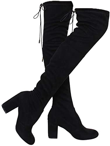 Amazon.com | ShoBeautiful Women's Thigh High Boots Stretchy Over .