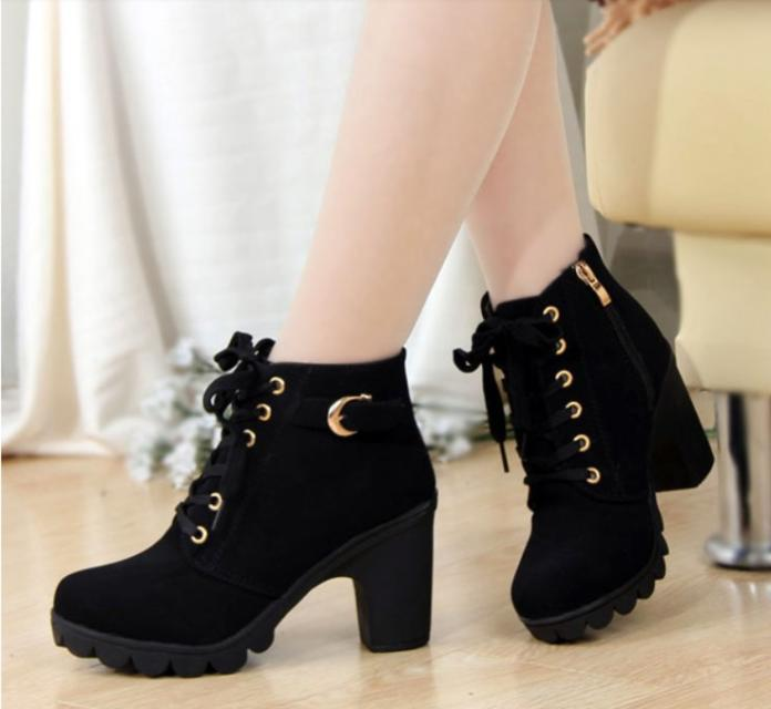 2020 hot new women shoes PU sequined high heels zapatos mujer .