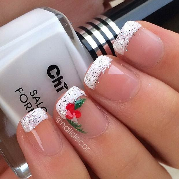 71 Christmas Nail Art Designs & Ideas for 2019 | StayGlam .