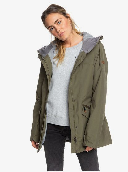 Stellar SpinDye® Waterproof Longline Hooded Jacket ERJJK03284 | Ro