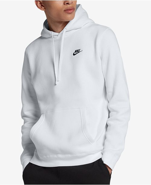 Nike Men's Pullover Fleece Hoodie & Reviews - Hoodies .