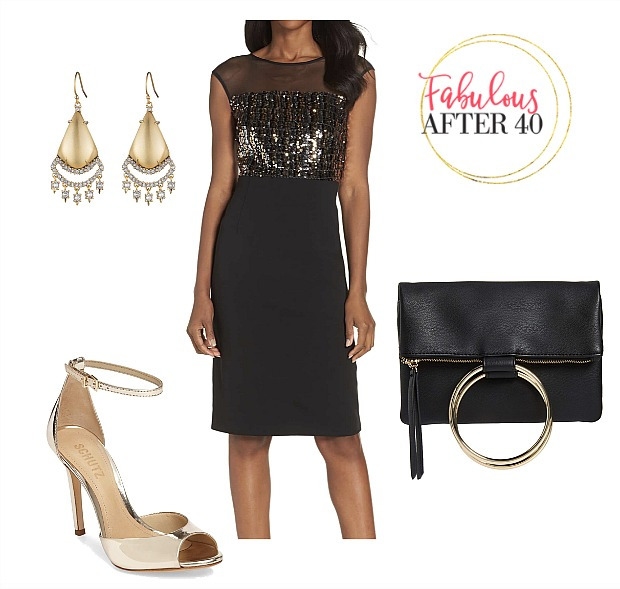 Holiday Party Style - Tips to Accessorize A Little Black Dre