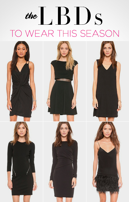 Little Black Dress (LBD) Trends For Fall 2014 | LadyLUX - Online .