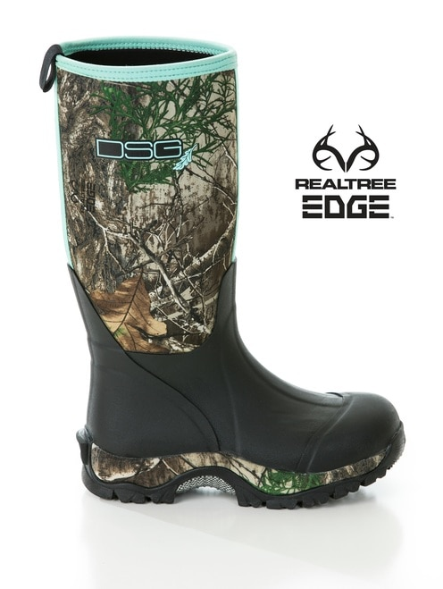 Women's Insulated Hunting Boots | Realtree Edge Rubber Boo