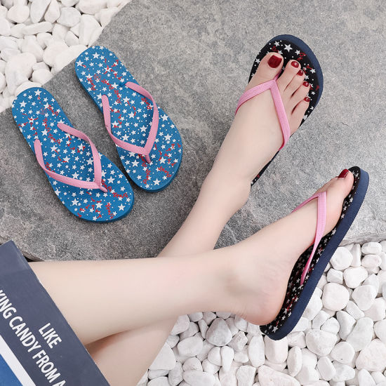 China 2020 Wholesale Fashion Sequin Summer Shoes Women Slippers .