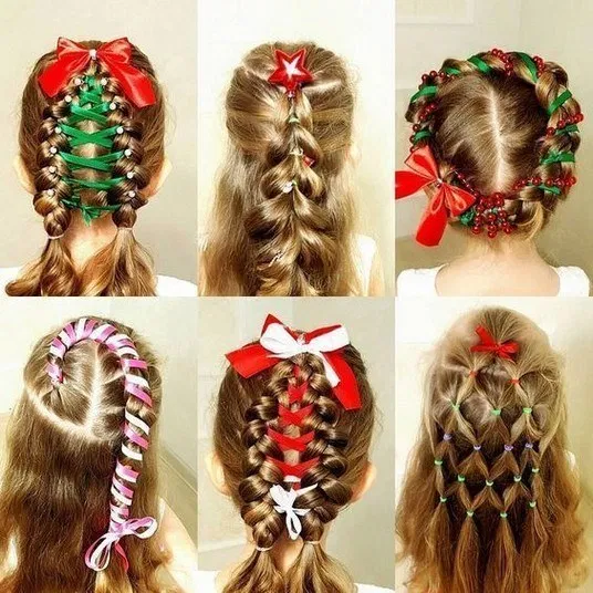 181 wonderful and cute christmas hairstyles - page 1 | Peinados .