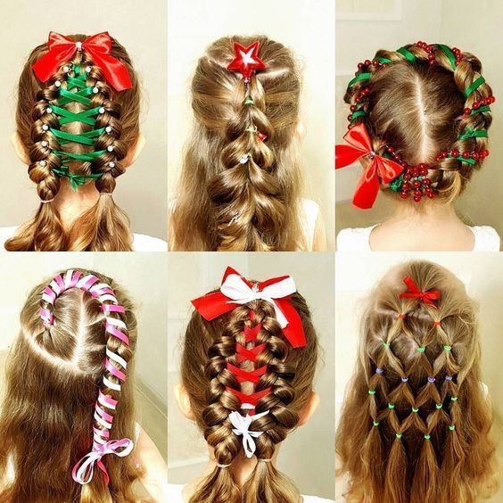 Inspirational Teen Hairdo for Christmas Eve