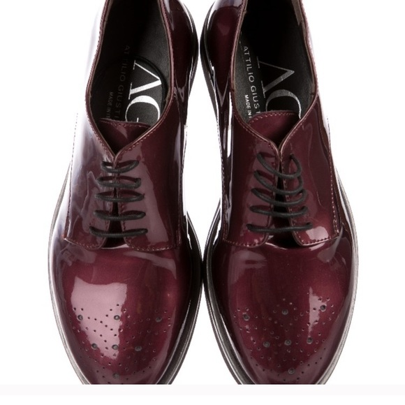 Attilio Giusti Leombruni Shoes | Designer Womens Italian Oxford .