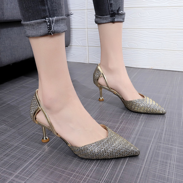 Buy Gold African Wedding Sandals Shoes Italian shoes 2020 Summer .