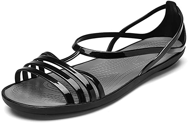 Amazon.com | Women's Colorful Neon Jelly Sandals Clear Summer .