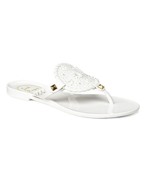 Jack Rogers Big Girl Miss Georgica Jelly Sandals & Reviews - All .