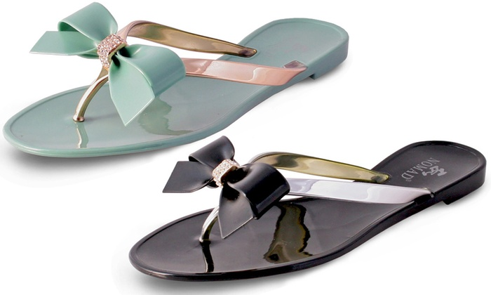 Nomad Footwear Women's Bow Jelly Sandals | Group