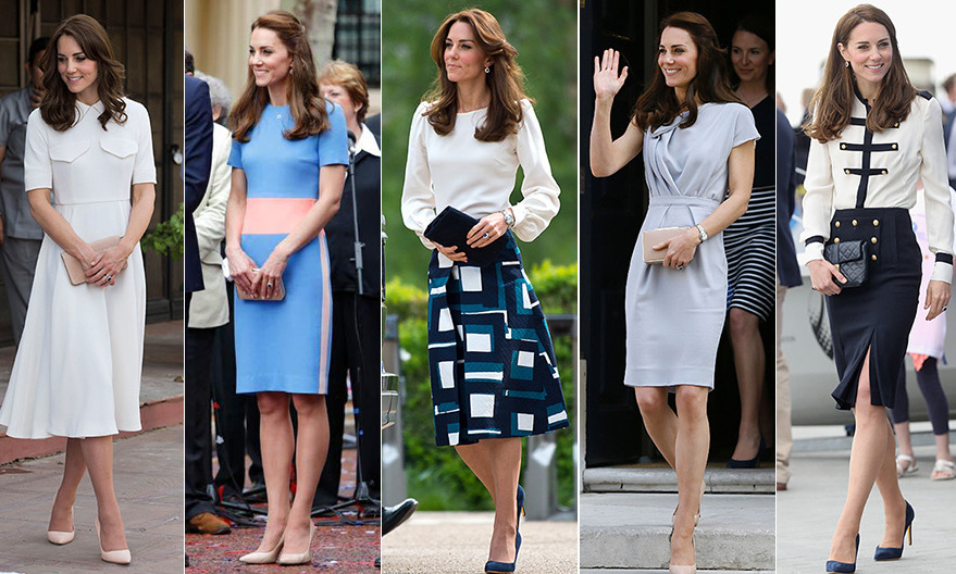 Kate Middleton's spring-summer wardrobe, look by look - Photo