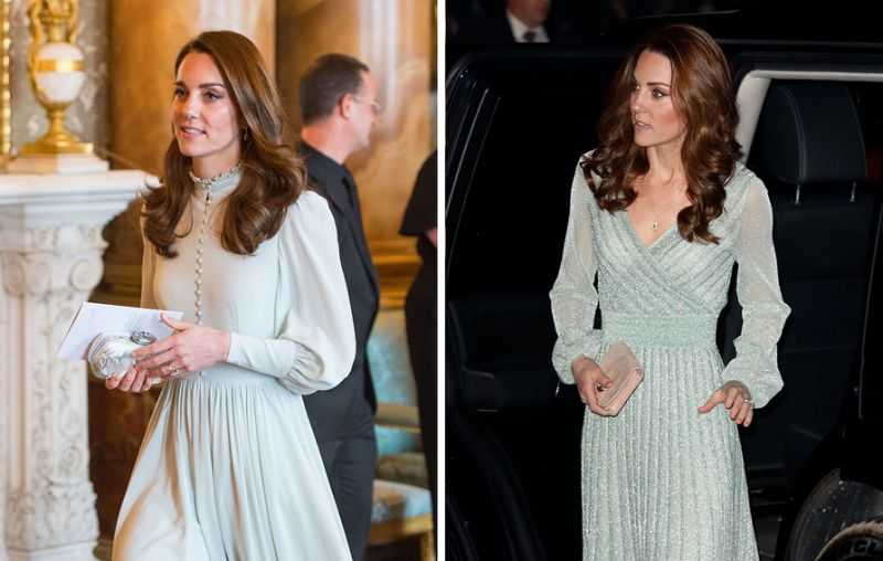 Kate Middleton Wears Her Second Mint Dress in 5 Days…so We Guess .
