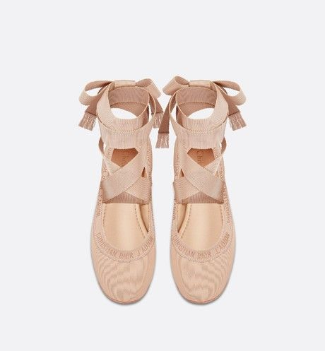 Dior Academy Lace-Up Ballerina | Womens fashion shoes, Ballerina .