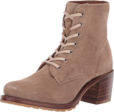 Amazon.com | FRYE Women's Sabrina 6G Lace-Up Boot | Ankle & Boot