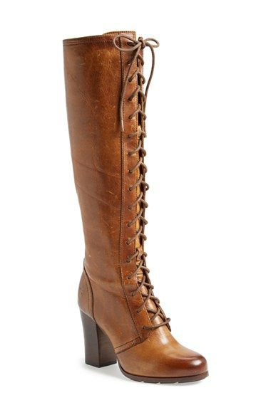 Frye 'Parker' Lace-Up Tall Boot (Women) | Nordstrom | Boots .