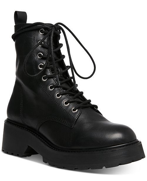 Steve Madden Women's Tornado Lace-Up Combat Boots & Revie