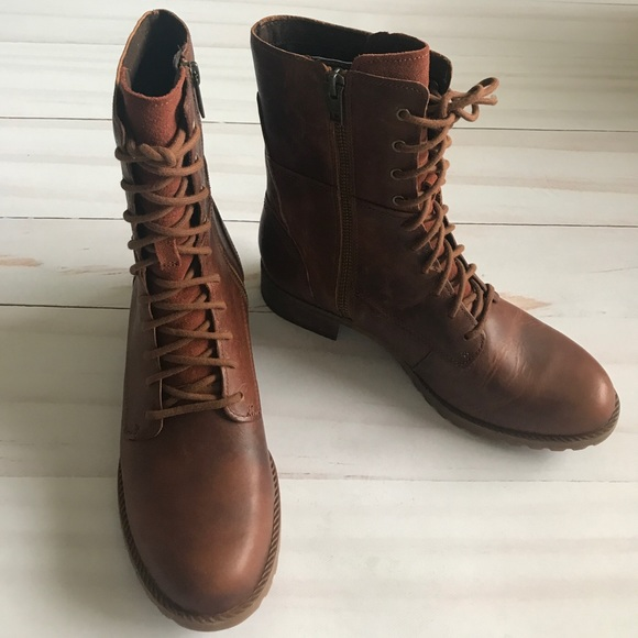 Timberland Shoes | Womens Leather Lace Up Boots Banfield | Poshma