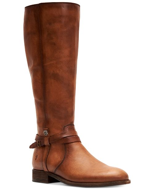 Frye Women's Melissa Belted Leather Boots & Reviews - Boots .
