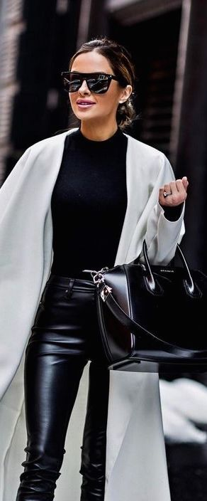 winter Pants 2019 50+ best outfits | Leather pants outfit, Fashion .
