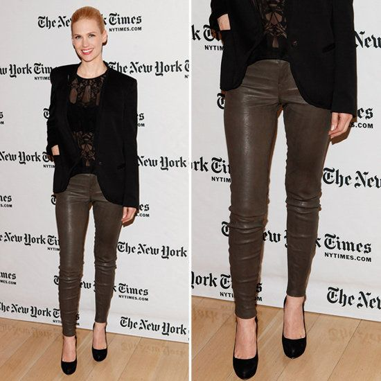 How to wear Brown pants | Brown leather pants, Fashion, Black lace .