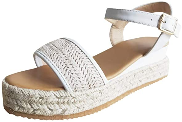 Amazon.com | Sandals Flat White Leather Sandals Womens Greek .