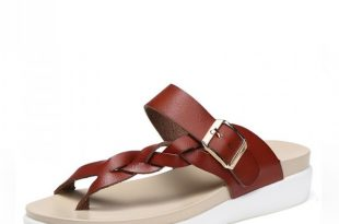 Buy Summer Sandals Slippers For Women Genuine Leather Ladies Shoes .
