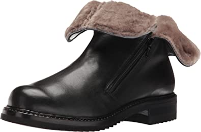Amazon.com | Gravati Women's Double Zip Ankle Boot with Shearling .